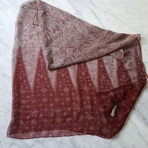 Giorgio Armani Large Vintage Silk Shawl